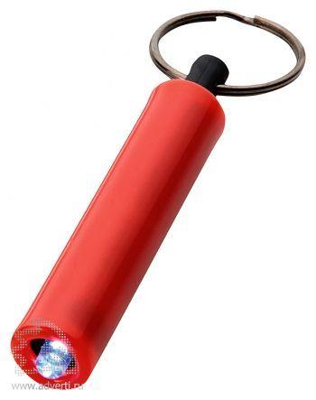 Брелок-фонарик «Retro», красный