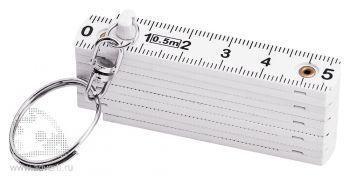 Рулетка складная «Tape», 0,5 м, сложенная