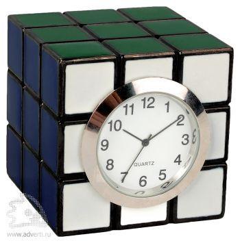 Часы настольные «Кубик Рубика»