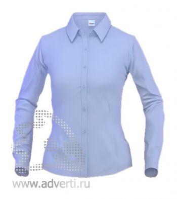 Рубашка «Stan Business», женская, голубая