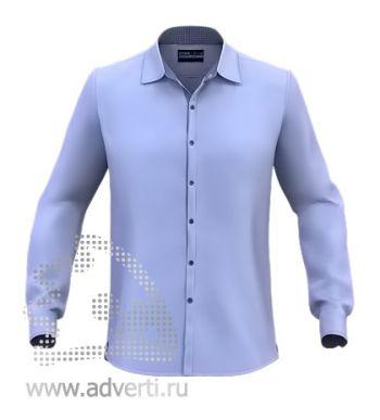 Рубашка «Stan Best», мужская, синяя