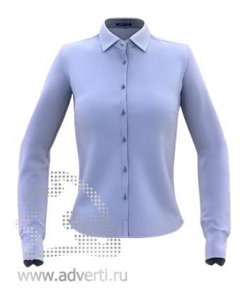 Рубашка «Stan Best W», женская, синяя