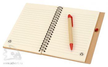 Блокнот А6 «Priestly» с ручкой, внутренний блок