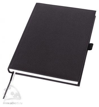 Записная книжка А5+ «Vicenza», черная