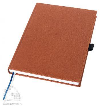 Записная книжка А5+ «Vicenza», коричневая