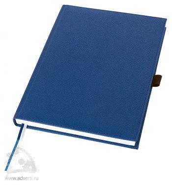 Записная книжка А5+ «Vicenza», синяя