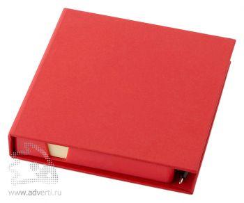 Блок для записей «Samba», красный