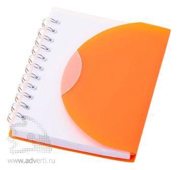 Блокнот А7 «Post», оранжевый