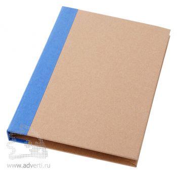 Папка «Ranger» с блокнотом А5, синяя