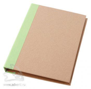 Папка «Ranger» с блокнотом А5, зеленая