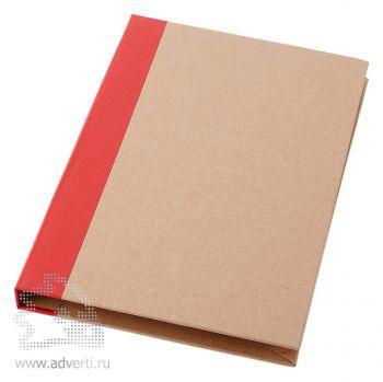 Папка «Ranger» с блокнотом А5, красная