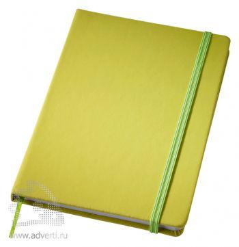 Блокнот А6 «Rainbow M», зеленый