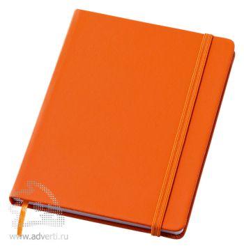 Блокнот А6 «Rainbow M», оранжевый