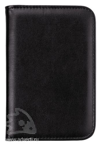 Блокнот А6 «Smarti» с калькулятором, черный