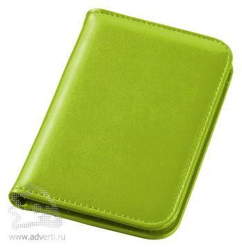 Блокнот А6 «Smarti» с калькулятором, зеленый, в закрытом виде