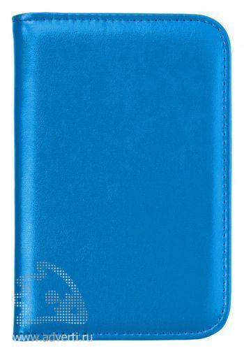 Блокнот А6 «Smarti» с калькулятором, голубой