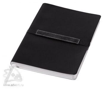Блокнот А6 «Stretto», черный