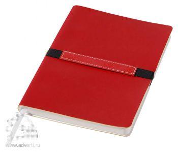 Блокнот А6 «Stretto», красный