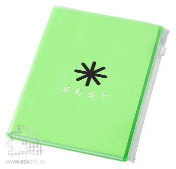 Блокнот А5 «Escape», зеленый