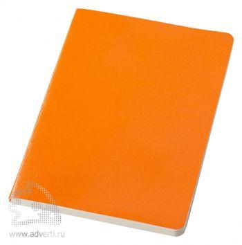 Блокнот А5 «Gallery», оранжевый