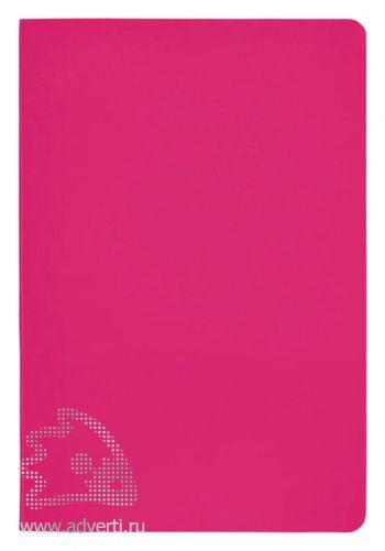 Блокнот А5 «Gallery», розовый