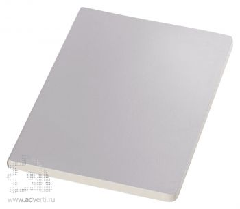 Блокнот А5 «Mirror», серебристый
