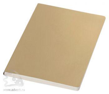 Блокнот А5 «Mirror», золотистый