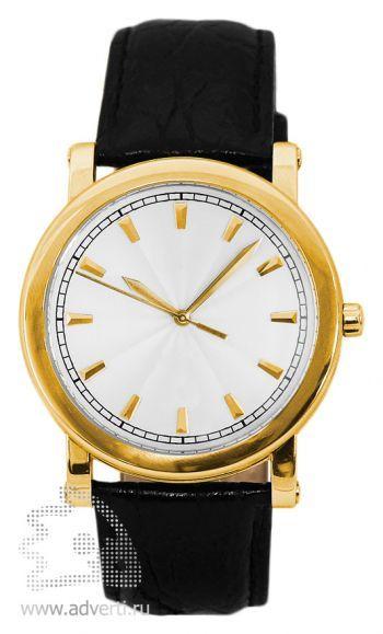 Часы наручные «Golden time», мужские, золотой корпус