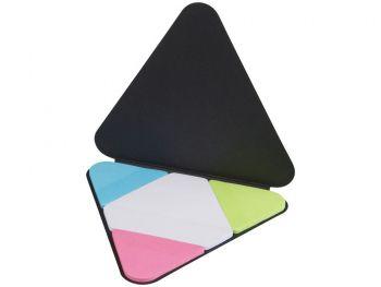 Треугольные стикеры, черный, открытый