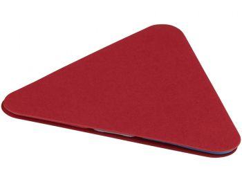 Треугольные стикеры, красный