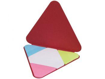 Треугольные стикеры, красный, открытый