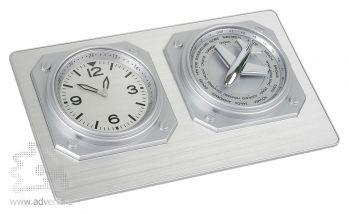 Часы настольные «Часовой пояс»