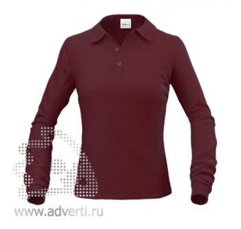 Рубашка поло «Stan Polo W», женская, коричневая