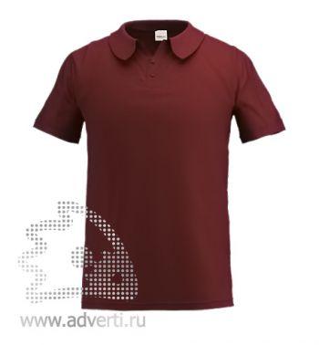 Рубашка поло «Stan Primier», мужская, коричневая