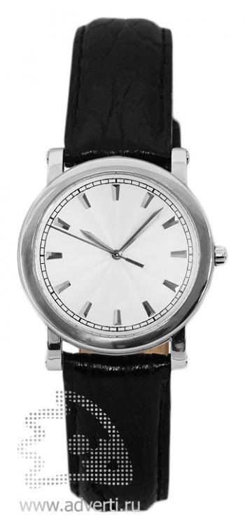 Часы наручные «Прага», женские, серебряный корпус