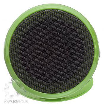 Колонка «Pollux» складная, зеленая, вид спереди