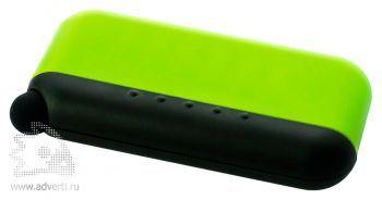Стилус-губка для чистки экрана 2в1, зеленая