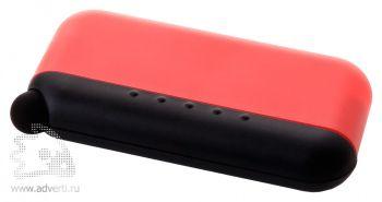 Стилус-губка для чистки экрана 2в1, красная