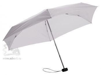 Зонт складной «Stella», механический, 5 сложений, серый