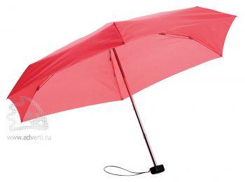Зонт складной «Stella», механический, 5 сложений, красный