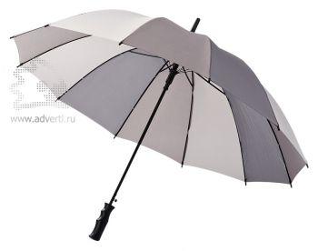 Зонт-трость «Melchiorre», полуавтомат, серый