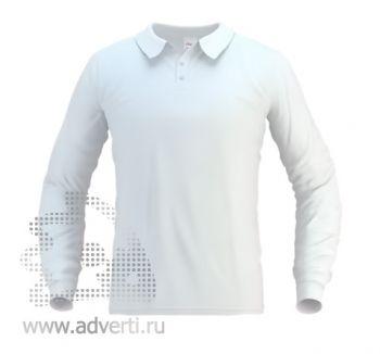Рубашка поло «Stan Polo», мужская, белая