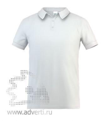 Рубашка поло «Stan Premium», мужская, белая