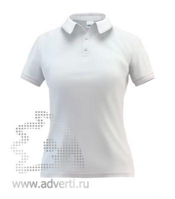 Рубашка поло «Stan Premium W», женская, белая