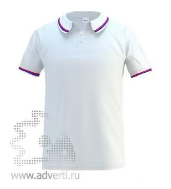 Рубашка поло «Stan Russian», мужская, белая