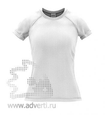 Футболка под сублимацию «Stan Print W», женская, белая