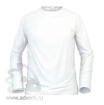 Футболка под сублимацию «Stan Print S», мужская, белая