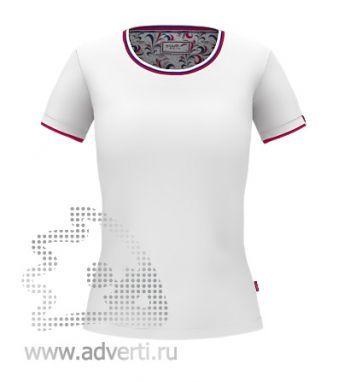Футболка «Ekaterina City W», женская, белая