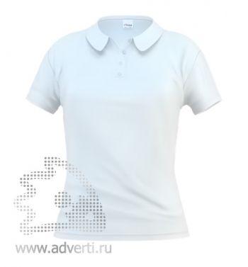 Рубашка поло «Stan Women», женская, белая