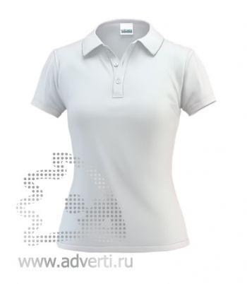 Рубашка поло под сублимацию «Stan Poli W», женская, белая